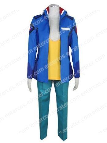 Gundam Seed Destiny Earth Alliance Male Uniform Cosplay Costume any size