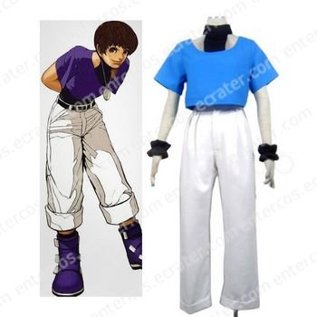 King of Fighter 97 Chris Cosplay Costume  any size