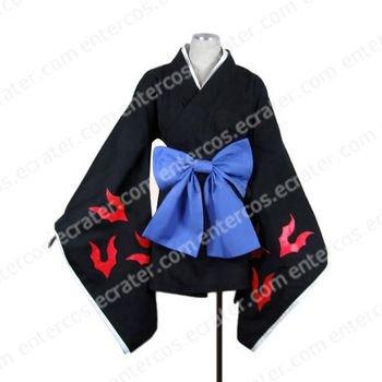 Kamiyomi Mikaduki Kimono Cosplay Costume any size