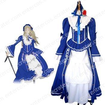 Le Chevalier D'Eon Lia de Beaumont Cosplay Costume any size