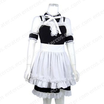 Maid Cosplay Costume  4  any size