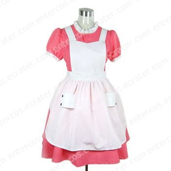 Maid Dress Cosplay Costume any size