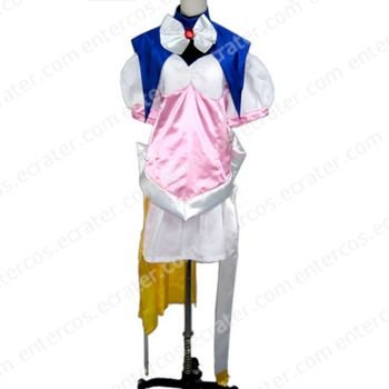 Pink Coat With One Leg Cosplay Costumes any size