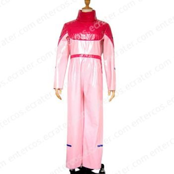 Pink Overalls Cosplay Costume any size