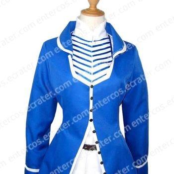 Sakura War Glycine Bleumer Cosplay Costume any size