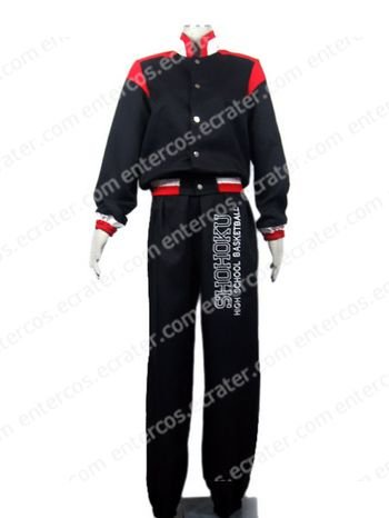 Slamdunk Rukawa Cosplay Costume any size