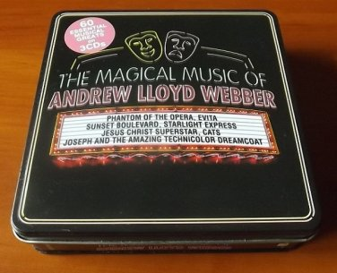 THE MAGICAL MUSIC OF ANDREW LLOYD WEBBER THREE CD PRESENTATION BOXED SET