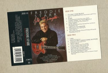 FREDDIE STARR  AFTER THE LAUGHTER  AUDIO CASSETTE 1974