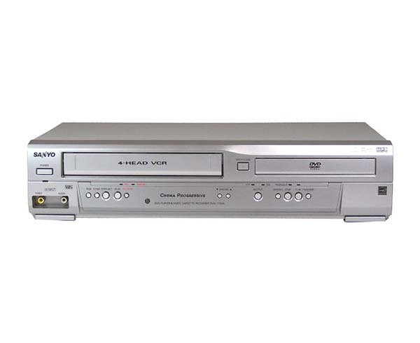 SEALED SANYO DVW-7100A DVD/VCR COMBO MP3/CD PLAYER ~WTY