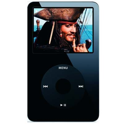 Black Apple iPod Video 30GB Enhanced MP3 - 30 GB