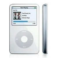 White Apple iPod Video 30GB MP3 Player - 30 GB