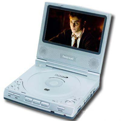 "Initial DVD-5820 5.8"" Portable DVD Player buySAFE"