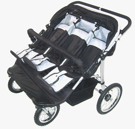 NEW TRIPLE JOGGING BABY STROLLER JOGGER!!!