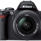 Nikon D40 Digital SLR Camera 2 lerns pro shooter kit