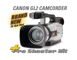 CANON GL2 MINIDV DIGITAL USA & $4500 PRO SHOOTERS KIT