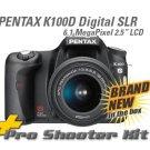 Pentax K100D SLR Digital +18-55/50-200mm 2Gb Pro KIT