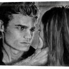 Vampire Diaries Two Main Characters (8) Canvas Print 20 x 24 (Print Run Limited to 50)