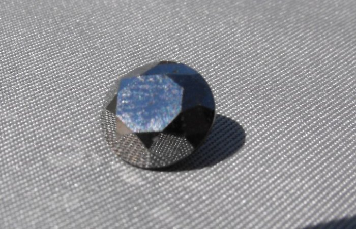 100% Natural Untreated HUGE Black Diamond 2.28 ct