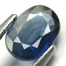 RARE 0.95cts 100% Natural Untreated Blue Sapphire