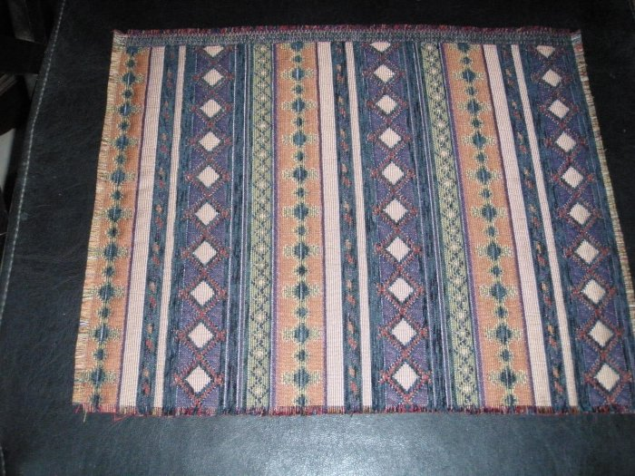 Authentic Druze Woven Place Mats from Israel SET OF 4