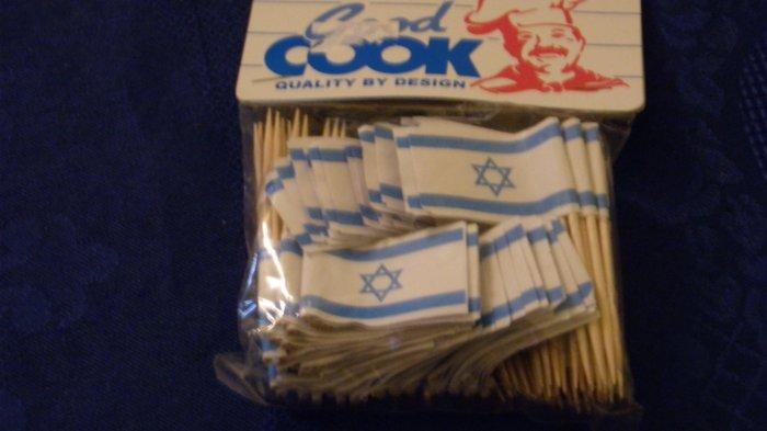 Flag of Israel Decorative Toothpicks