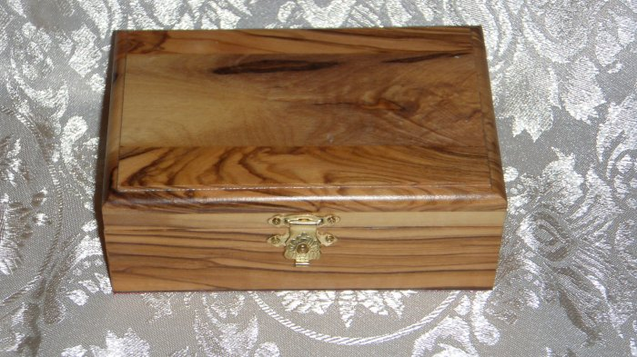 Olive Wood Box - Plain