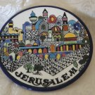 Armenian Ceramic Decorative Dish- Jerusalem