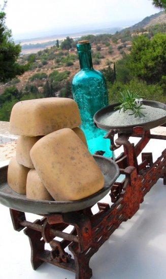 Olive Oil Soap from Israel Enriched with a Variety of Herbs & Spices