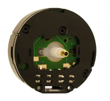 NEW Round Clock Movement for Miniature Clocks with Extra Long Shaft (MCN-24M)
