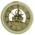 "NEW 4"" Anniversary Quartz Skeleton Fit-Up Clock Movement (MST-120)"