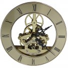 NEW 'Floating' Anniversary Quartz Skeleton Insert Clock Movement (MST-130)