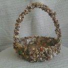 Large Seashell Basket