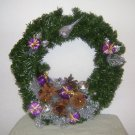Sugar Plum Christmas Wreath