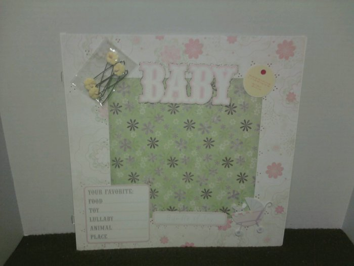 Playtime Baby Scrapbook Page