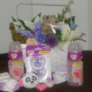 It's a Girl! Baby Gift Basket