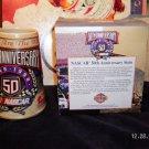 nascar beer mug