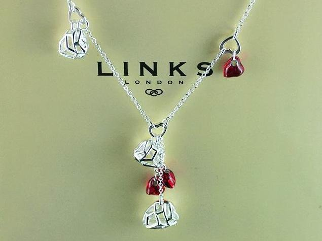 """LONDON LINKS""  2011 collection 925 Sterling silver  links necklace"
