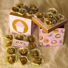 Birthday Box of Gourmet Dog Bonbons Peanut Butter Pumpkin Oats