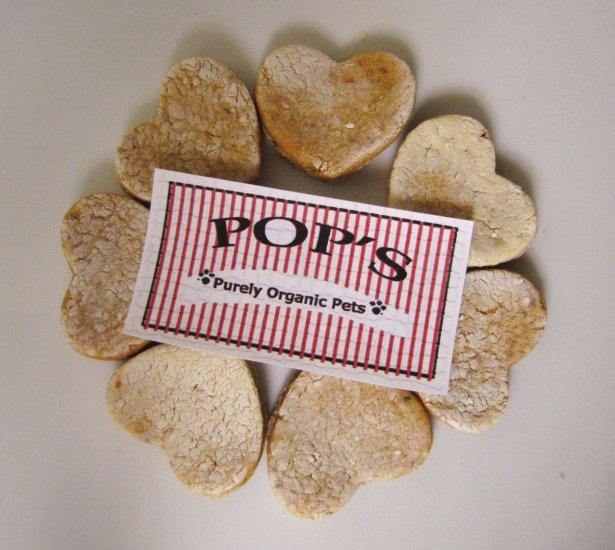 Sample Chicken Sweet Potato Hearts All Natural Dog Treats