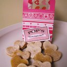 Valentines Day Chicken Sweet Potato Hearts All Natural Dog Treats