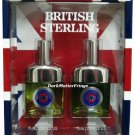 British Sterling Dana 2.5/2.5 oz Mens Cologne Spray & After Shave 2pc Gift Set