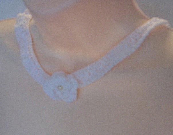 White Lace Crochet 033