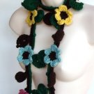 Leaves 6 flowers Lariat 201