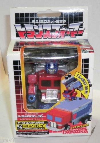 Transformers Choro Q Convoy Optimus Prime Metallic