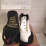 Nike Air Jordan 12 XII Og Ds White Black Taxi NIB 9
