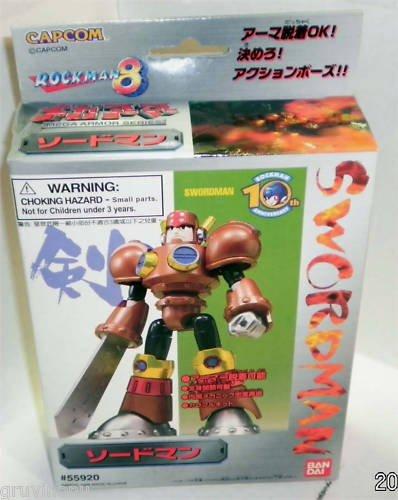 Rockman 8 Swordman Rare 5592 1998 MIB