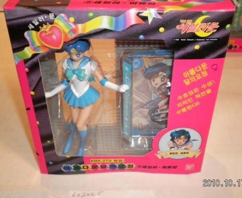 Sailor Moon Petite Soldier Sailor Mercury Figure NIB