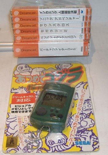 Sega Dreamcast Japanese VMU Godzilla Original NIB
