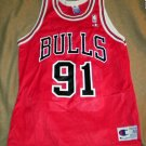 Dennis Rodman #91 Chicago Bulls Champion Jersey 40 NEW
