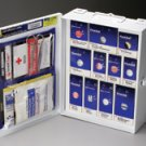 112 Piece Medium First Aid Kit General Business Metal